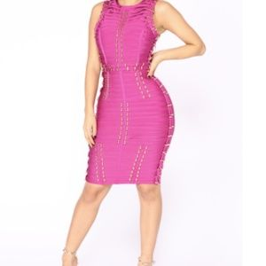 Fashion Nova Mojito Bandage Dress